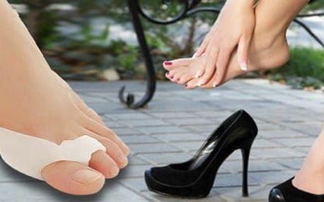 Silikonová ortopedická pomůcka ke zmírnění problému vybočujícího palce. !!!! Fantastická úleva pro nohy !!!! Bonus 3 + 1 zdarma !!!