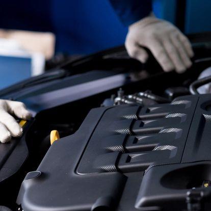 Parní čištění motorů, dekontaminace laku a rzi