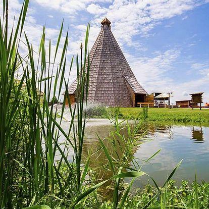 Pobyt s wellness a polopenzí v resortu Vigvam