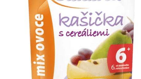 6x SUNÁREK Kašička s cereáliemi mix ovoce (120 g)