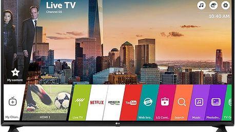 LG 49LJ594V - 123cm + Gamepad LG AN-GR700 v ceně 700 kč + Flashdisk A-data 16GB v ceně 200 kč