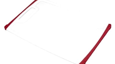 TESCOMA krájecí deska COSMO 26x16 cm, červená