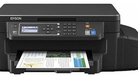 Tiskárna multifunkční Epson L605 (C11CF72401) černá + Doprava zdarma