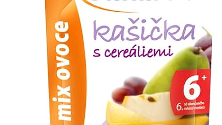 6x SUNÁREK Kašička mix ovoce 120g