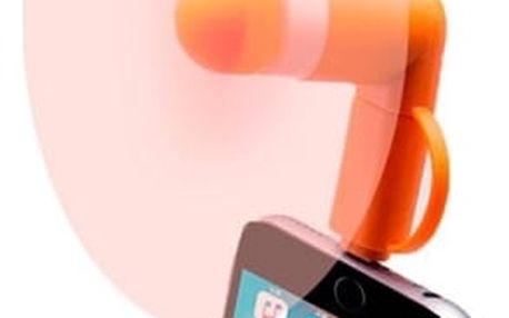 Větráček jednoduše zapojte do Vašeho chytrého telefonu a užívejte si příjemný studený vzduch.