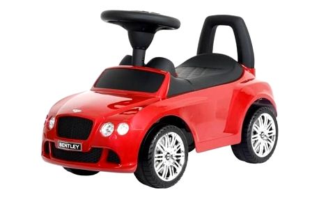 Odrážedlo plastové Sun Baby Bentley červené