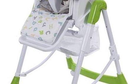 Jídelní židlička Sun Baby Laura zelená + Doprava zdarma