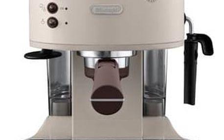 Espresso DeLonghi Icona Vintage ECOV 311.BG béžové + Doprava zdarma