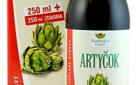 EkoMedica Artyčok 99,8% šťáva z artyčoku 500 ml