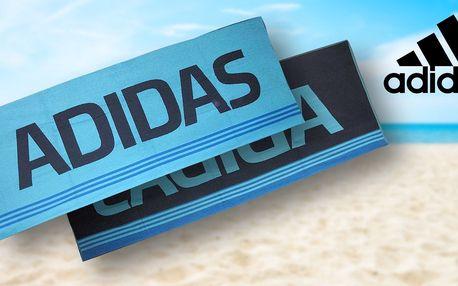 Velká osuška Adidas k bazénu nebo na pláž