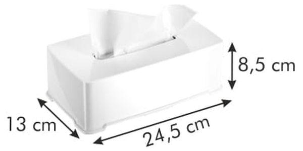 TESCOMA zásobník na papírové kapesníčky CLEAN KIT3