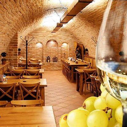 3 až 6denní pobyt se snídaněmi a konzumací vína pro 2 v penzionu Sklep na Moravě