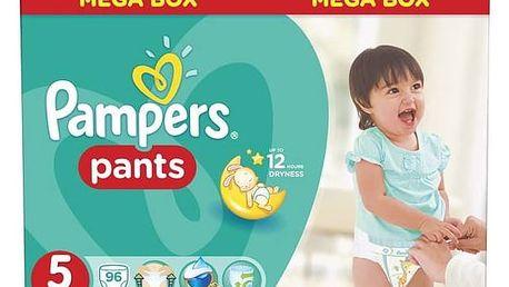 Plenkové kalhotky Pampers Mega Box vel. 5, 96ks + Doprava zdarma