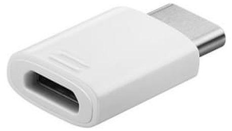 Redukce Samsung Micro USB / USB-C (EE-GN930BWEGWW) bílý