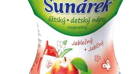 3x SUNÁREK Jablečný rozpustný nápoj - dóza 200g