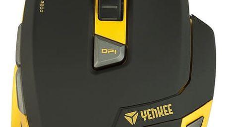 YENKEE YMS 3009 HORNET + Podložka pod myš CZC G-Vision Dark v ceně 199,-
