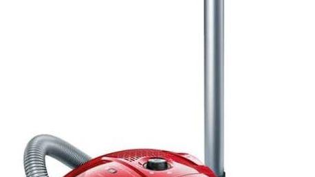 Vysavač podlahový Bosch BGL3A132 červený + Doprava zdarma