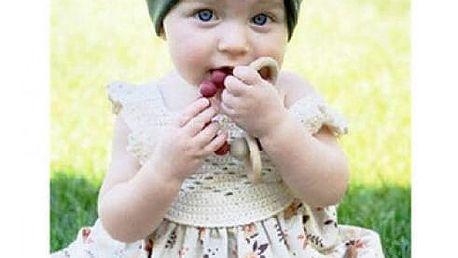 Dívčí čepička s mašlí Baby Bunny