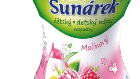 3x SUNÁREK Malinový rozpustný nápoj (200 g)