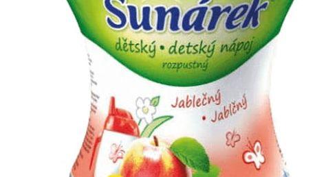 3x SUNÁREK Jablečný rozpustný nápoj - dóza (200 g)