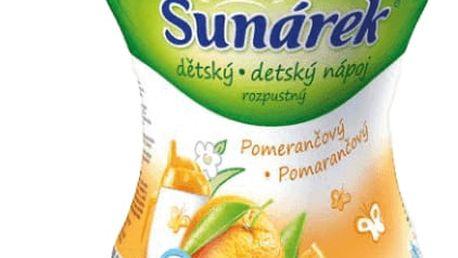 3x SUNÁREK Pomerančový rozpustný nápoj (200 g)