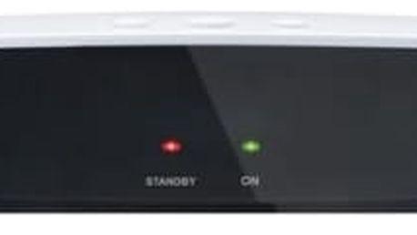 Satelitní přijímač GoSat GS7010 HDi černý/bílý