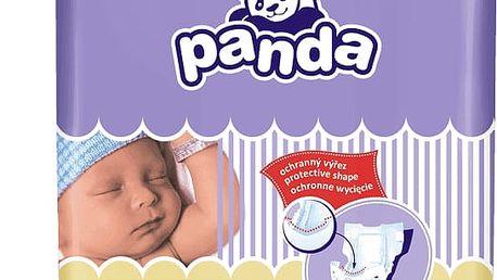 2x BELLA PANDA Newborn 58ks (2-5 kg) - jednorázové pleny