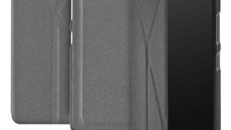 Pouzdro na mobil flipové GoGEN pro Lenovo S90 (GOGCASES90GR) šedé