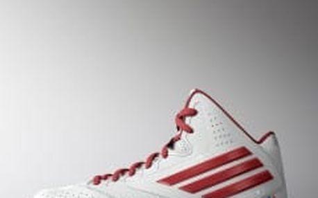 Dětské basketbalové boty adidas Performance 3 Series 2014 NBA K 38 FTWWHT/SCARLE/CROYAL