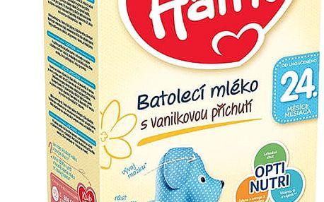 3x HAMI 24+ s příchutí vanilky (600 g) – kojenecké mléko
