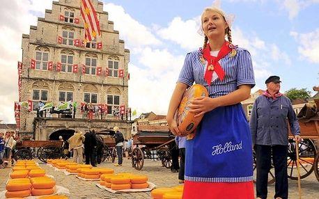 4denní zájezd do Holandska pro 1 s návštěvou větrných mlýnů a delfinária včetně ubytování