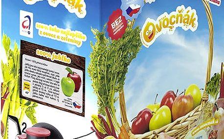 OVOCŇÁK Mošt jablko 100% 3 L - ovocná šťáva