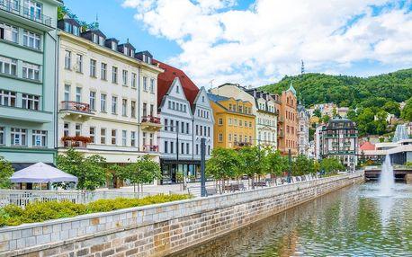Relaxace v Karlových Varech: polopenze i lázně