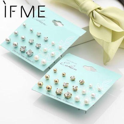Pořiďte si sadu romantických perličkových náušnic. Perfekně doplní denní outfit i společenskou róbu.