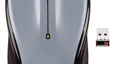 Logitech Wireless Mouse M325, stříbrná - 910-002334