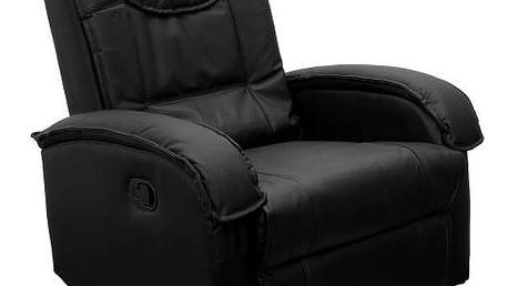 MAX 1301 - TV křeslo černé