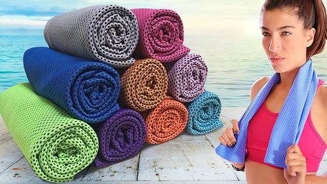 Chladicí ručník: osvěžení nejen při sportu