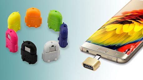 MicroUSB adaptér pro připojení příslušenství k telefonům