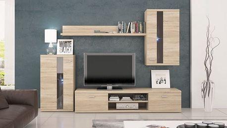 Life - Obývací stěna (dub sonoma)