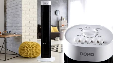 Obrňte se proti horkům: Sloupový ventilátor