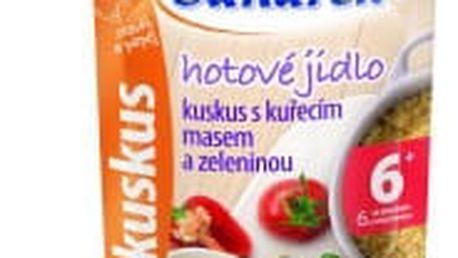 6x SUNÁREK Kapsička - Kuskus s kuřecím masem a zeleninou 120 g