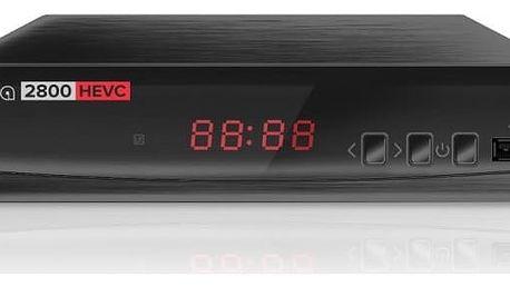 ALMA DVB-T2 HD přijímač 2800 s kodekem HEVC