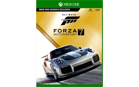 Forza Motorsport 7 - Ultimate Edition (Xbox ONE) - GYL-00022 + Model auta Porsche 911 GT2 RS, 1/43