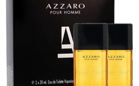 Azzaro Azzaro Pour Homme dárková kazeta pro muže toaletní voda 30 ml + toaletní voda 30 ml