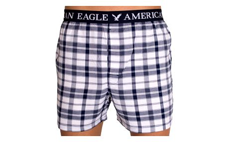 Pánské trenýrky American Eagle modré kostky L