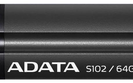 Adata S102 Pro 64GB černý (AS102P-64G-RGY)