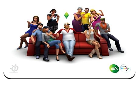SteelSeries QcK Sims 4 Limited Edition - 67292
