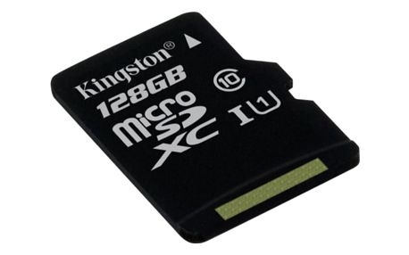 Kingston MicroSDXC 128GB UHS-I U1 (45MB/s) (SDC10G2/128GBSP)