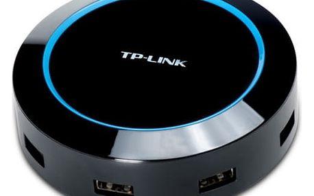 USB Hub TP-Link UP540, 5 port, nabíjení (40W) (UP540) černý