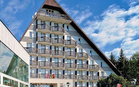 Podzimní Vysočina v hotelu SKI s wellness, fitness a polopenzí